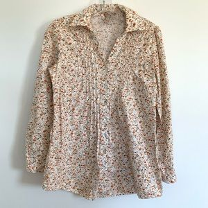 American Rag Cie Floral Button Down Shirt